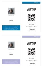 good_bye_onionさんの名刺タイプの紹介カードデザインへの提案
