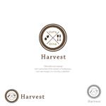 nakayama0001さんのカフェ、レストラン「Harvest Cafe」のロゴへの提案