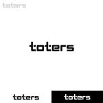 Puchi2さんのトートバッグ、Tシャツ、ポロシャツ等のブランド「toters」のロゴへの提案