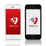 mirai32さんの外国人労働者対象サービス会社「ブリッジ・ジャパン株式会社」の企業ロゴへの提案