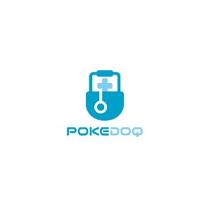 ol_zさんの健康管理アプリ「POKEDOQ」のロゴへの提案