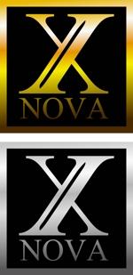 WhitePageさんのホストクラブ 「X NOVA」のロゴへの提案