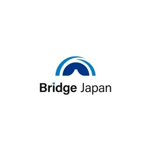 Saku-TAさんの外国人労働者対象サービス会社「ブリッジ・ジャパン株式会社」の企業ロゴへの提案