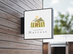 itokiri_designさんのカフェ、レストラン「Harvest Cafe」のロゴへの提案