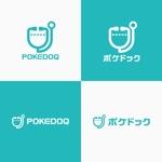 utamaruさんの健康管理アプリ「POKEDOQ」のロゴへの提案