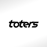hayashi1010さんのトートバッグ、Tシャツ、ポロシャツ等のブランド「toters」のロゴへの提案