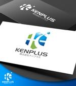 NJONESさんの建設会社 防水工事「ケンプラス」のロゴへの提案