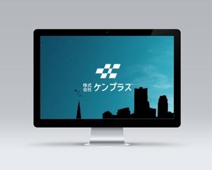 Okumachiさんの建設会社 防水工事「ケンプラス」のロゴへの提案