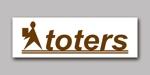 yukiymdさんのトートバッグ、Tシャツ、ポロシャツ等のブランド「toters」のロゴへの提案
