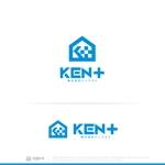 waku-gさんの建設会社 防水工事「ケンプラス」のロゴへの提案