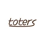 ehakowebworksさんのトートバッグ、Tシャツ、ポロシャツ等のブランド「toters」のロゴへの提案