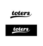 itokiri_designさんのトートバッグ、Tシャツ、ポロシャツ等のブランド「toters」のロゴへの提案