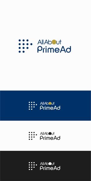 designdesignさんの広告ソリューション「All About PrimeAd」のロゴ への提案