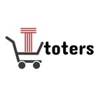 godpine724さんのトートバッグ、Tシャツ、ポロシャツ等のブランド「toters」のロゴへの提案