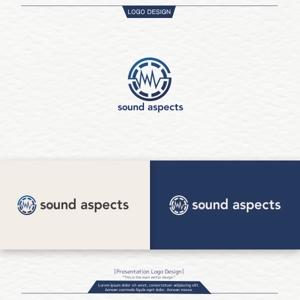 conii88さんの【選定確約】インターネット関連事業新会社「株式会社サウンドアスペクツ」の会社ロゴ制作依頼への提案