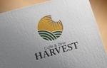 FISHERMANさんのカフェ、レストラン「Harvest Cafe」のロゴへの提案