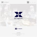onesizefitsallさんのホストクラブ 「X NOVA」のロゴへの提案