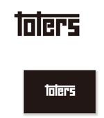 serve2000さんのトートバッグ、Tシャツ、ポロシャツ等のブランド「toters」のロゴへの提案