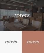 baku_modokiさんのトートバッグ、Tシャツ、ポロシャツ等のブランド「toters」のロゴへの提案
