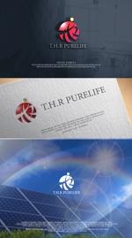 NJONESさんの太陽光発電システムを中心にした、各種リフォーム業 会社名ロゴへの提案