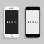 haru_Designさんのトートバッグ、Tシャツ、ポロシャツ等のブランド「toters」のロゴへの提案