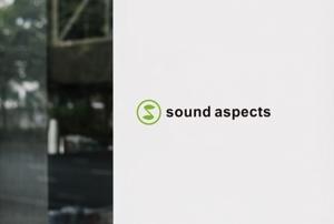 ALTAGRAPHさんの【選定確約】インターネット関連事業新会社「株式会社サウンドアスペクツ」の会社ロゴ制作依頼への提案