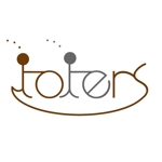 baby07さんのトートバッグ、Tシャツ、ポロシャツ等のブランド「toters」のロゴへの提案