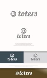 mahou-photさんのトートバッグ、Tシャツ、ポロシャツ等のブランド「toters」のロゴへの提案