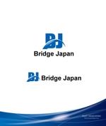 investさんの外国人労働者対象サービス会社「ブリッジ・ジャパン株式会社」の企業ロゴへの提案