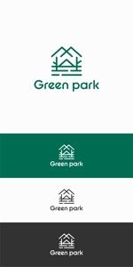 designdesignさんの人気アウトドア複合施設 グリーンパーク山東のロゴへの提案