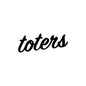 alne-catさんのトートバッグ、Tシャツ、ポロシャツ等のブランド「toters」のロゴへの提案