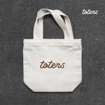 doremidesignさんのトートバッグ、Tシャツ、ポロシャツ等のブランド「toters」のロゴへの提案