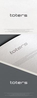 Handwerksmeisterさんのトートバッグ、Tシャツ、ポロシャツ等のブランド「toters」のロゴへの提案