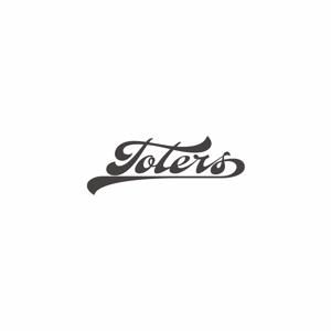 planticaさんのトートバッグ、Tシャツ、ポロシャツ等のブランド「toters」のロゴへの提案