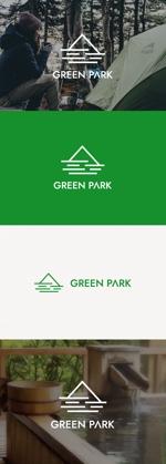 tanaka10さんの人気アウトドア複合施設 グリーンパーク山東のロゴへの提案