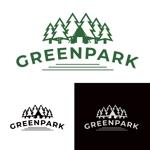 idw_さんの人気アウトドア複合施設 グリーンパーク山東のロゴへの提案