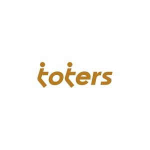 kinryuzanさんのトートバッグ、Tシャツ、ポロシャツ等のブランド「toters」のロゴへの提案