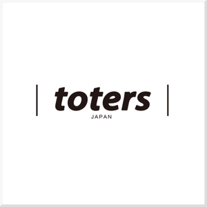 d-o2さんのトートバッグ、Tシャツ、ポロシャツ等のブランド「toters」のロゴへの提案