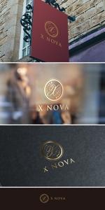 nobuworksさんのホストクラブ 「X NOVA」のロゴへの提案