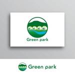 White-designさんの人気アウトドア複合施設 グリーンパーク山東のロゴへの提案