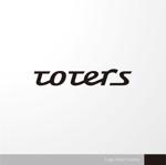 sa_akutsuさんのトートバッグ、Tシャツ、ポロシャツ等のブランド「toters」のロゴへの提案