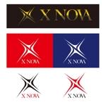 nam_350さんのホストクラブ 「X NOVA」のロゴへの提案