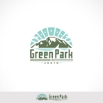 人気アウトドア複合施設 グリーンパーク山東のロゴへの提案