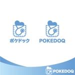 wzsakuraiさんの健康管理アプリ「POKEDOQ」のロゴへの提案