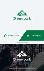 take5-designさんの人気アウトドア複合施設 グリーンパーク山東のロゴへの提案