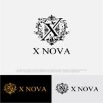 drkigawaさんのホストクラブ 「X NOVA」のロゴへの提案