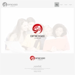 onesizefitsallさんの外国人労働者対象サービス会社「ブリッジ・ジャパン株式会社」の企業ロゴへの提案