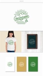 DeeDeeGraphicsさんの人気アウトドア複合施設 グリーンパーク山東のロゴへの提案