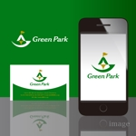 sa_akutsuさんの人気アウトドア複合施設 グリーンパーク山東のロゴへの提案