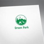 fujiseyooさんの人気アウトドア複合施設 グリーンパーク山東のロゴへの提案